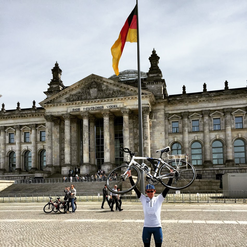 Simon Tilsley, London To Berlin