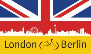 London To Berlin Cycle Logo