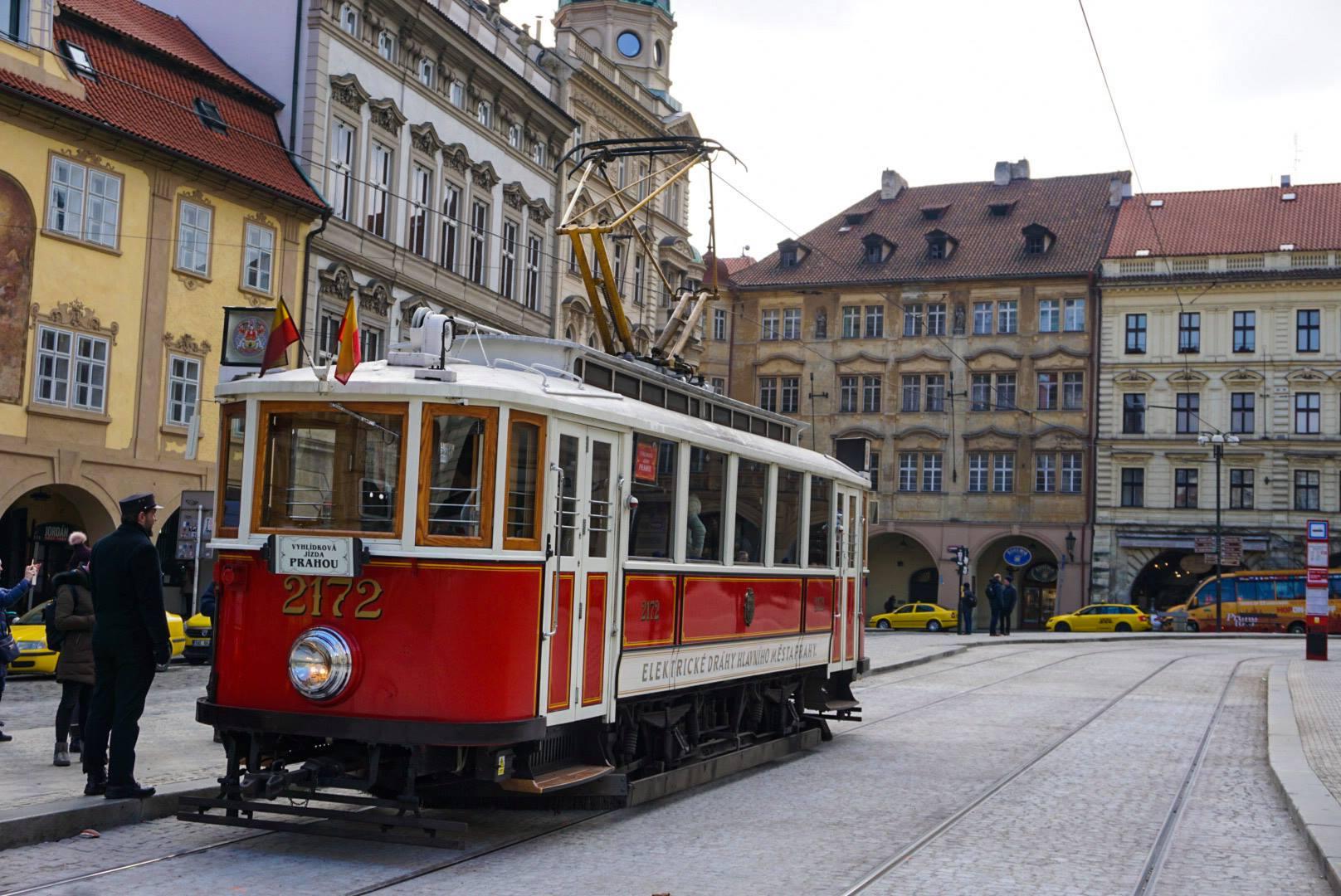 Prague Tram