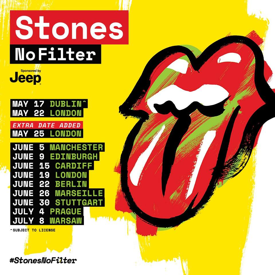 The Rolling Stones Tour 2018